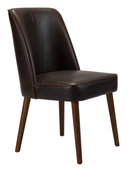 Kennedy Dining Chair Brown Set of Two