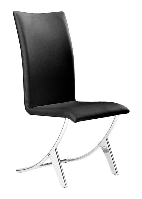 Delfin Dining Chair Black Set of Two