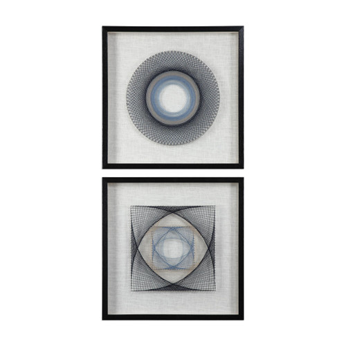 Uttermost String Duet Geometric Art S/2