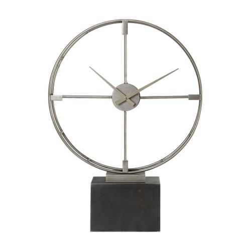 Uttermost Janya Contemporary Table Clock