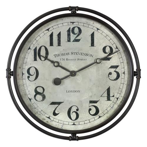 Uttermost Nakul Industrial Wall Clock