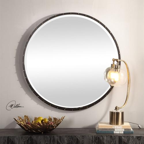 Uttermost Benedo Round Mirror