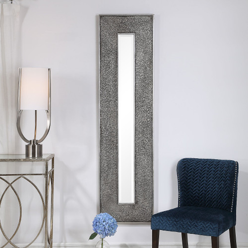 Uttermost Bannon Tall Metallic Mirror