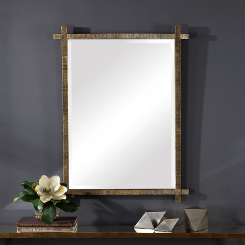 Uttermost Abanu Gold Vanity Mirror