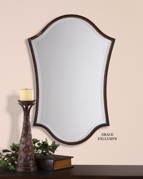 Uttermost Abra Bronze Vanity Mirror
