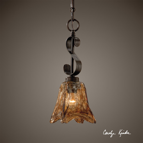 Uttermost Vetraio Mini Oil Rubbed Bronze Pendant