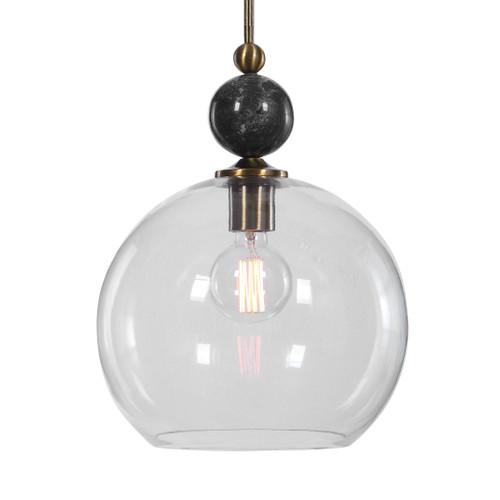 Uttermost Mendota 1 Light Glass Pendant