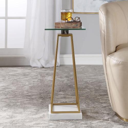 Uttermost Mackean Modern Drink Table