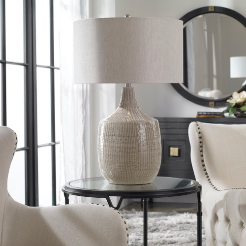 Uttermost Felipe Gray Table Lamp