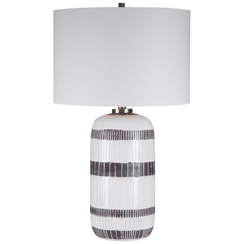 Uttermost Granger Striped Table Lamp