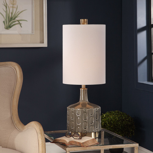 Uttermost Darrin Gray Table Lamp