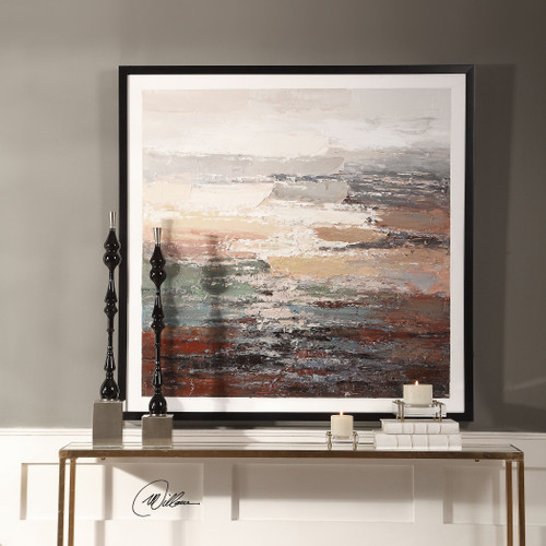 Uttermost Tides Abstract Art