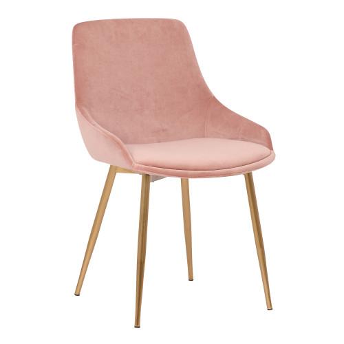 Heidi Grey Velvet Dining Accent Chair