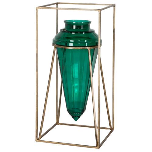 Uttermost Ariga Emerald Green Vase