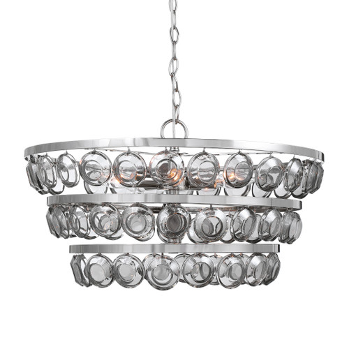 Uttermost Twinkle 5 Light Nickel Chandelier