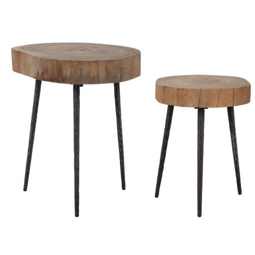 Uttermost Samba Wood Nesting Tables S/2