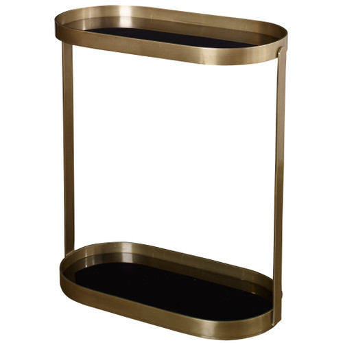 Uttermost Adia Antique Gold Accent Table