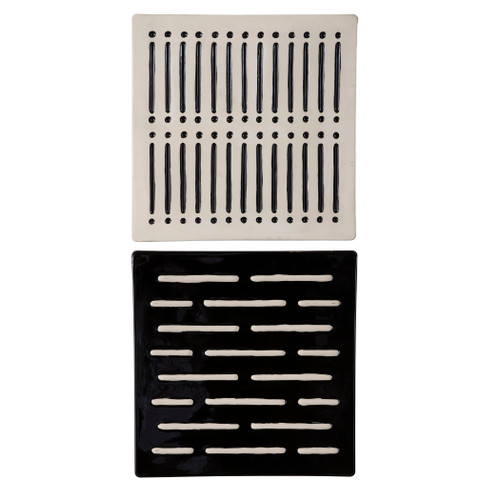 Uttermost Domino Effect Modern Wall Decor, S/2