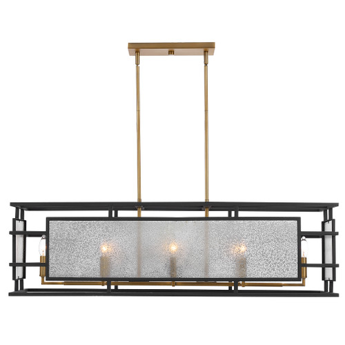 Uttermost Holmes 8 Light  Linear Chandelier