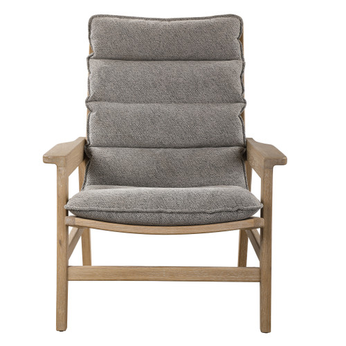 Uttermost Isola Oak Accent Chair