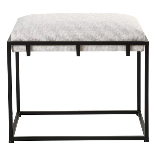 Uttermost Paradox White Small Bench