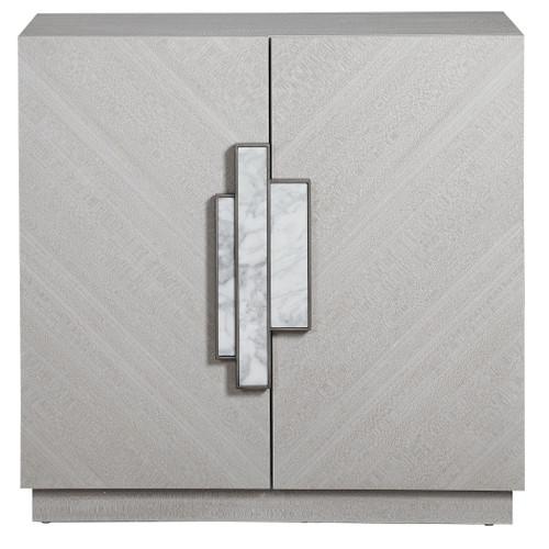 Uttermost Viela Gray 2 Door Cabinet