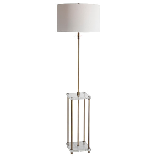 Uttermost Palladian Antique Brass Floor Lamp