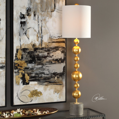 Uttermost Selim Gold Buffet Lamp