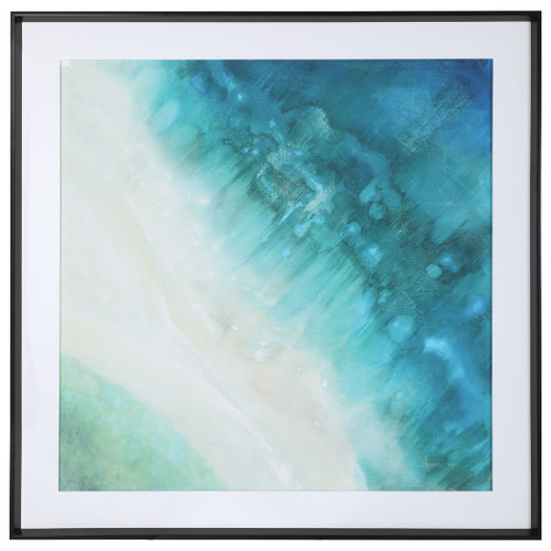 Uttermost Bird's-eye View Coastal Print