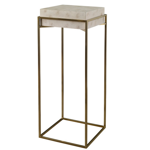 Uttermost Inda Modern Ivory Plant Stand