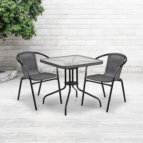 Contemporary Patio Chair for Indoor and Outdoor Use