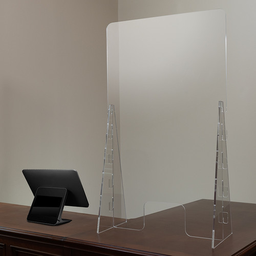 Acrylic Free Standing Register Shield