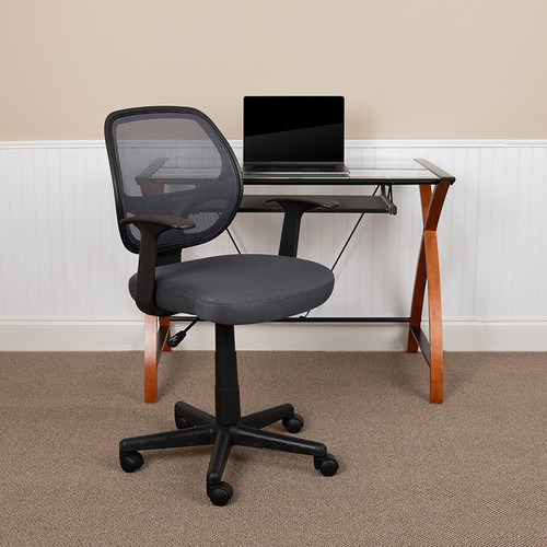 Contemporary Task Chair with T-Arms