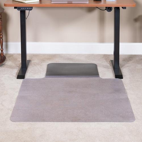 Office Chair Mat with Anti-Fatigue Foam Cushion