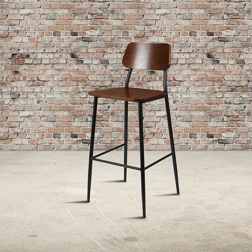 Commercial Grade Industrial Style Dining Barstool