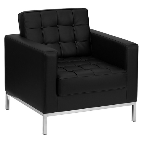 Black LeatherSoft Upholstery