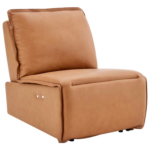 Supine Leather Recliner Chair