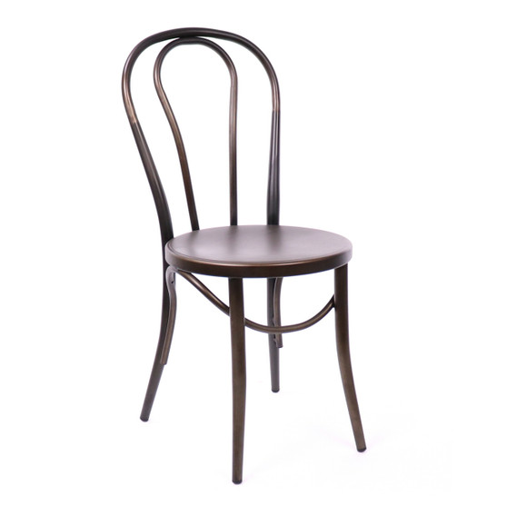 Design Lab MN LS-9902-RMT Belmont Rustic Dining Chair Set of 2