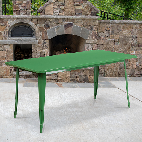 Metal Cafe Table
