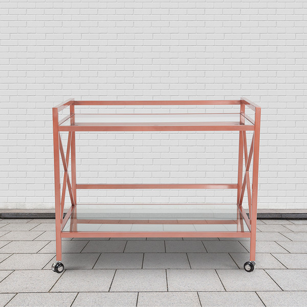 Mobile Serving Bar Cart