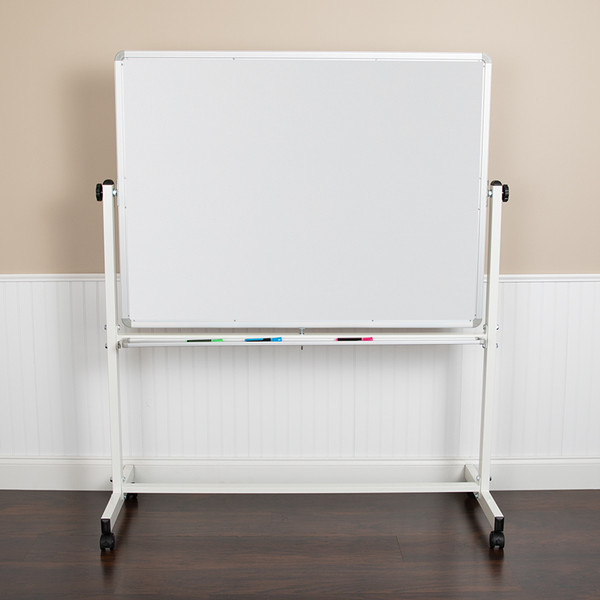 Double-Sided Magnetic Mobile Marker Board Stand