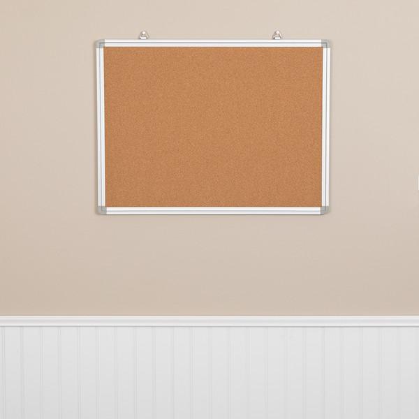Wall Mounted Cork Board