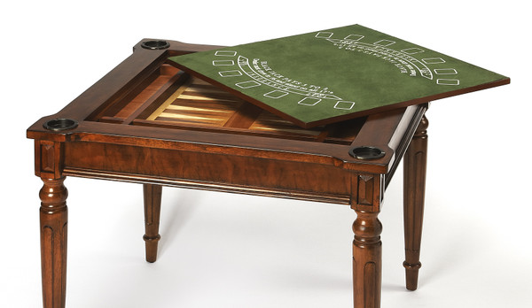 Butler Vincent Antique Cherry Multi-Game Card Table