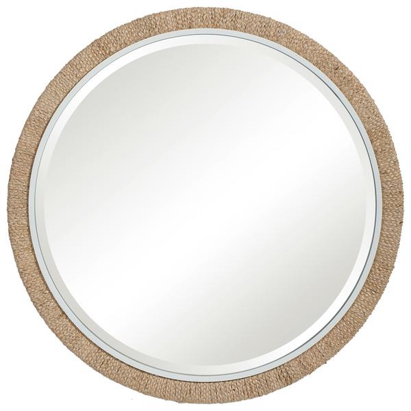 Uttermost Carbet Round Rope Mirror
