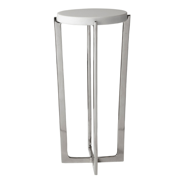 Uttermost Waldorf Marble Drink Table