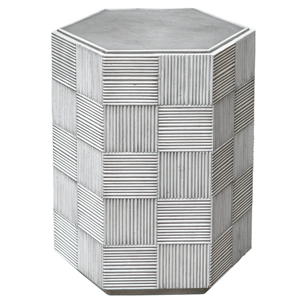 Uttermost Silo Hexagonal Accent Table