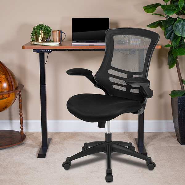 Height Adjustable Desk and Chair Set