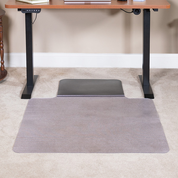 Office Chair Mat with Anti-Fatigue Foam Cushion