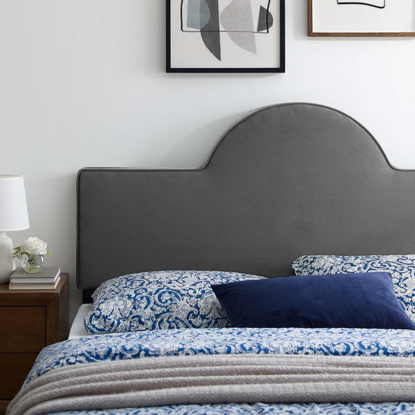 Dawn Twin Performance Velvet Headboard