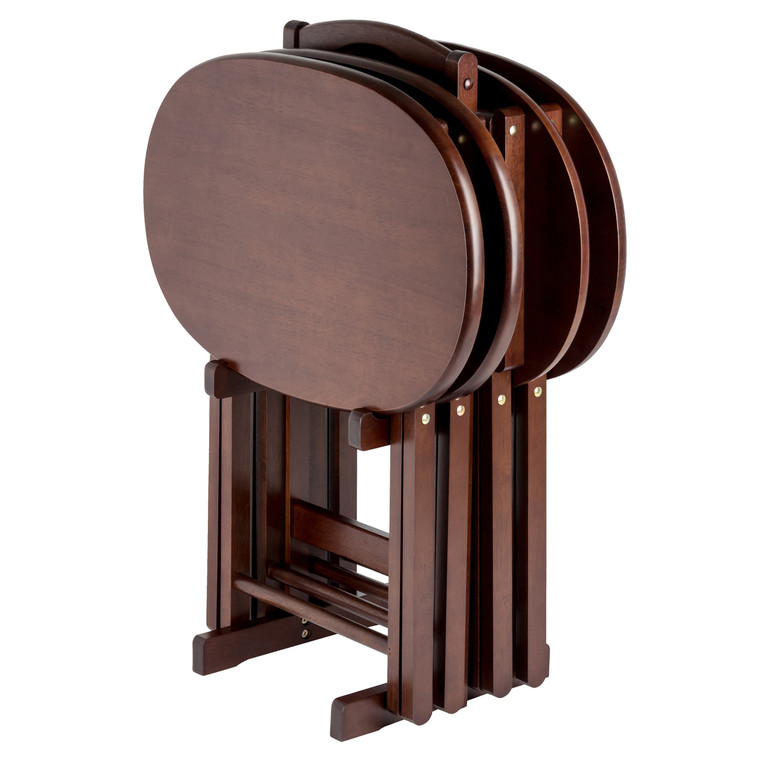 Nathan 5-PC Snack Table Set Cappuccino